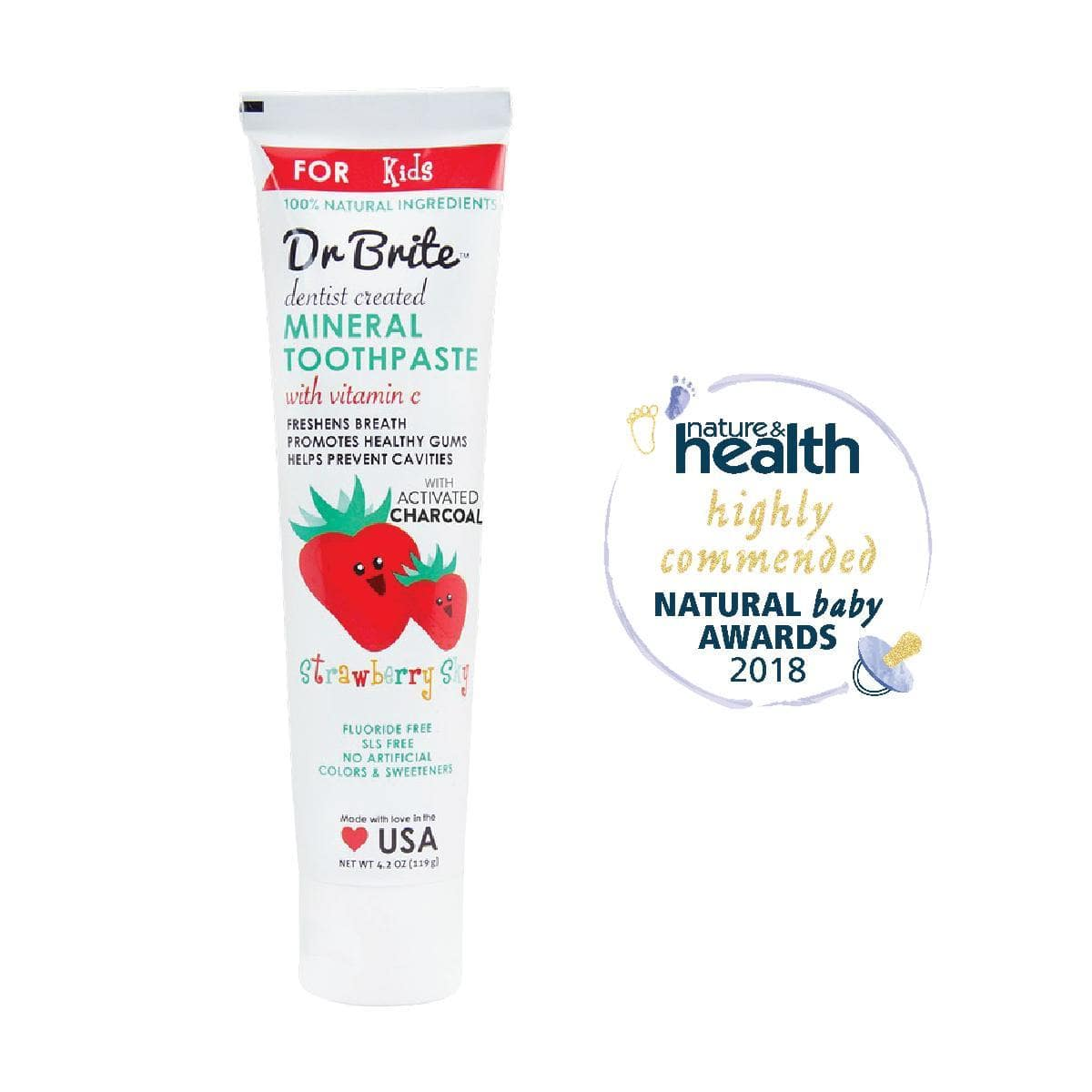Dr Brite Kids Toothpaste Strawberry