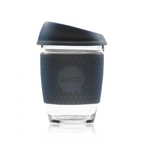 JOCO Seaglass Coffee Cup, Mood Indigo - 8oz, 16oz