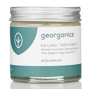 Georganics Natural Toothpaste, Spearmint