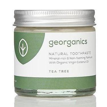Georganics Natural Toothpaste, Tea Tree