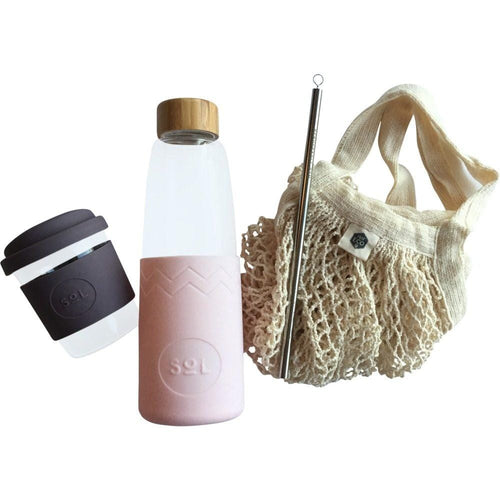Everyday Eco Bundle, Pink & Mauve