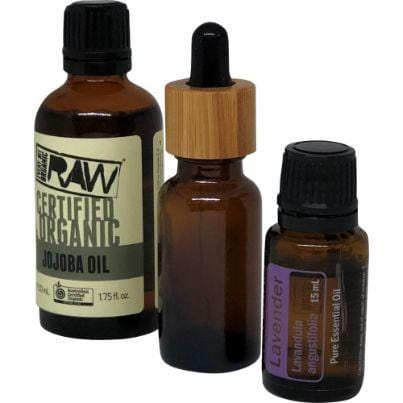 Bundle DIY 60-Second Jojoba & Lavender Face Serum (Combination Skin)