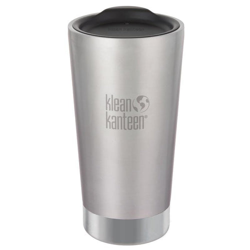 Klean Kanteen Insulated Tumbler 16oz, Brushed Stainless