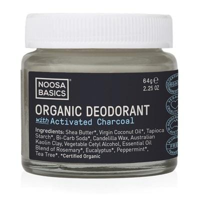 Noosa Basics Deodorant Cream Activated Charcoal
