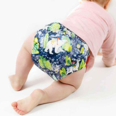 Designer Bums Art Pop Ai2 Nappy, Sweet Dreams