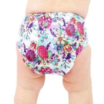 Designer Bums Art Pop Ai2 Nappy, Native Blooms