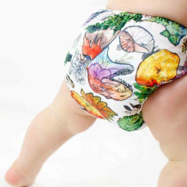 Designer Bums Art Pop Ai2 Nappy, Land Before Time