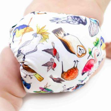 Designer Bums Art Pop Ai2 Nappy, Birds of a Feather