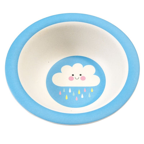 Rex London Bamboo Bowl, Happy Cloud
