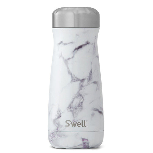 S'Well Traveler White Marble