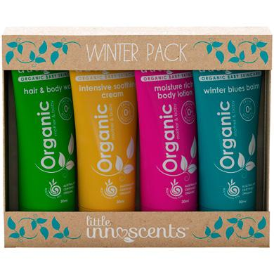Little Innoscents Organic Winter Sample Pack