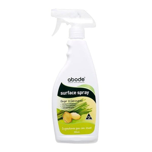 Abode Surface Spray - Ginger & Lemongrass - The Clean Collective