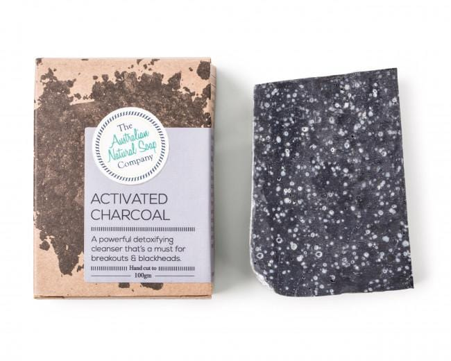 The ANSC Activated Charcoal Cleansing Bar (100g)
