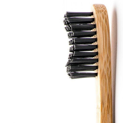 The Humble Co. Bamboo Toothbrush, Adult Soft Black
