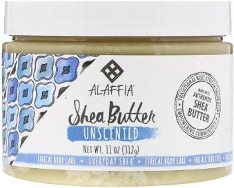 Alaffia Unscented Shea Butter (312g) - The Clean Collective