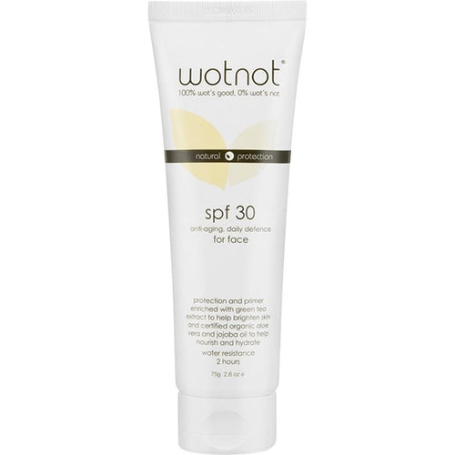 Wotnot Antiageing Face Sunscreen SPF30+