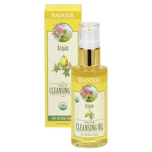 Badger Balm Argan Cleansing Oil