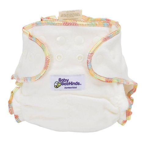 Baby Beehinds Bamboo Fitted Nappy - The Clean Collective