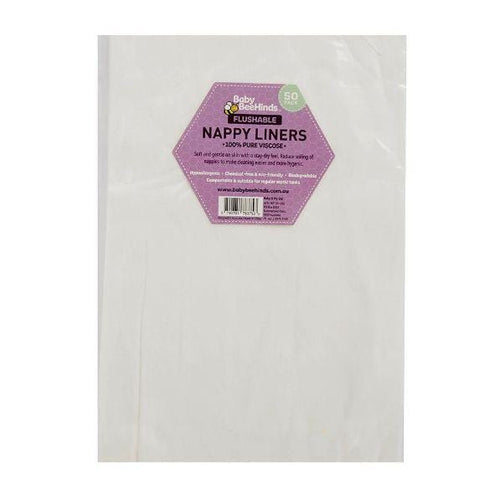 Baby Beehinds Liners - 50 Pack