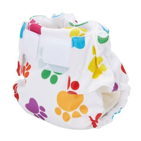 Baby Beehinds Magic-Alls AIO (All-In-One) Touch Fastener - Paws - The Clean Collective