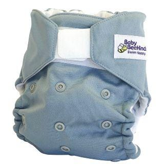 Baby Beehinds Swim Nappy, Ice Blue - The Clean Collective