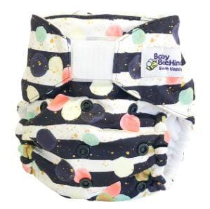 Baby Beehinds Swim Nappy, Party Pop - The Clean Collective