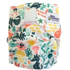Baby Beehinds Swim Nappy, Reef Rider - The Clean Collective