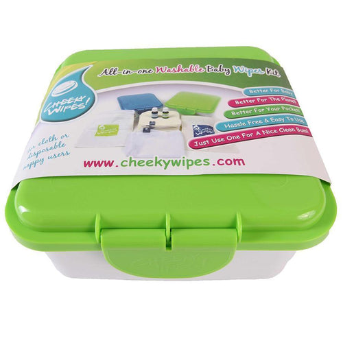 Cheeky Wipes Baby Wipes All In One Kit