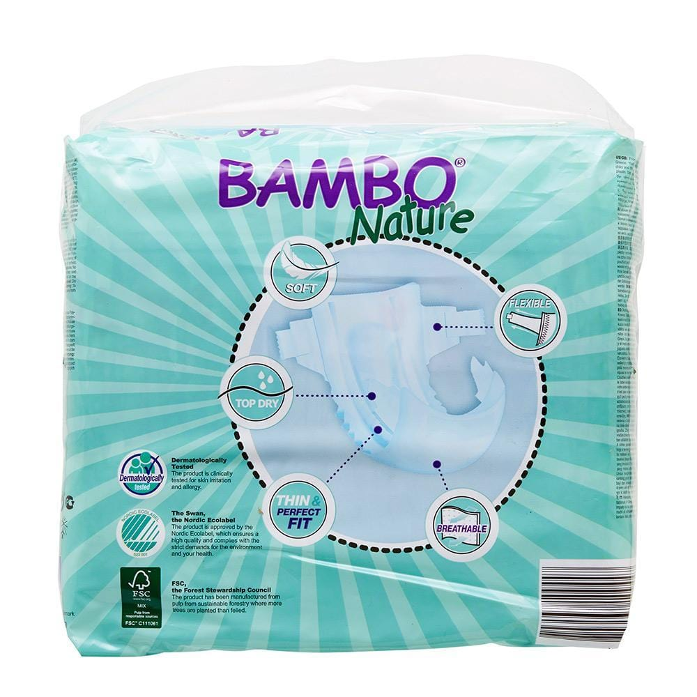 Bambo Nature Nappies Junior (Size 5/12-22kg)