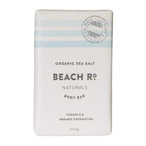 Beach Rd Naturals Body Bar - Organic Sea Salt 200g