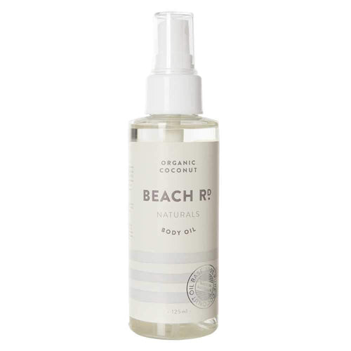 Beach Rd Naturals Body Oil - Organic Coconut 125ml