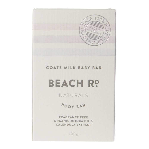 Beach Rd Naturals Goats Milk Baby Bar 100g
