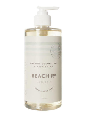 Beach Rd Naturals Hand & Body Wash - Organic Sea Salt 500ml