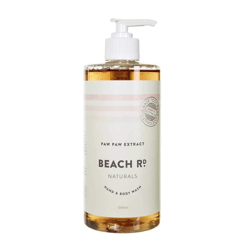 Beach Rd Naturals Hand & Body Wash - Paw Paw Extract 500ml