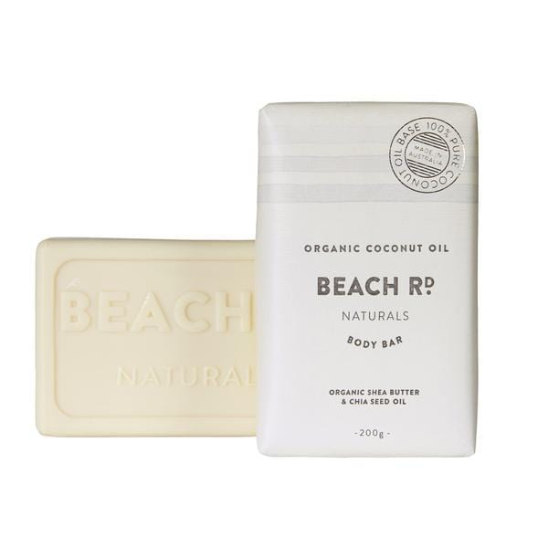 Beach Rd Naturals Body Bar, Organic Coconut Oil 200g