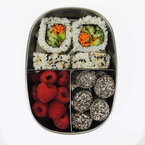 Ever Eco Bento Snack Box, 3 compartments