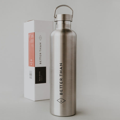 Better Than Insulated Stainless Steel Water Bottle, 1L