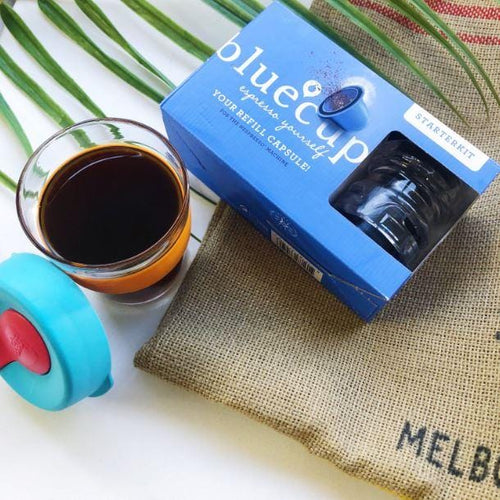 Bluecup Coffee Refill Capsule Starter Kit