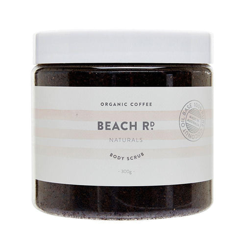 Beach Rd Naturals Body Scrub, Organic Coffee