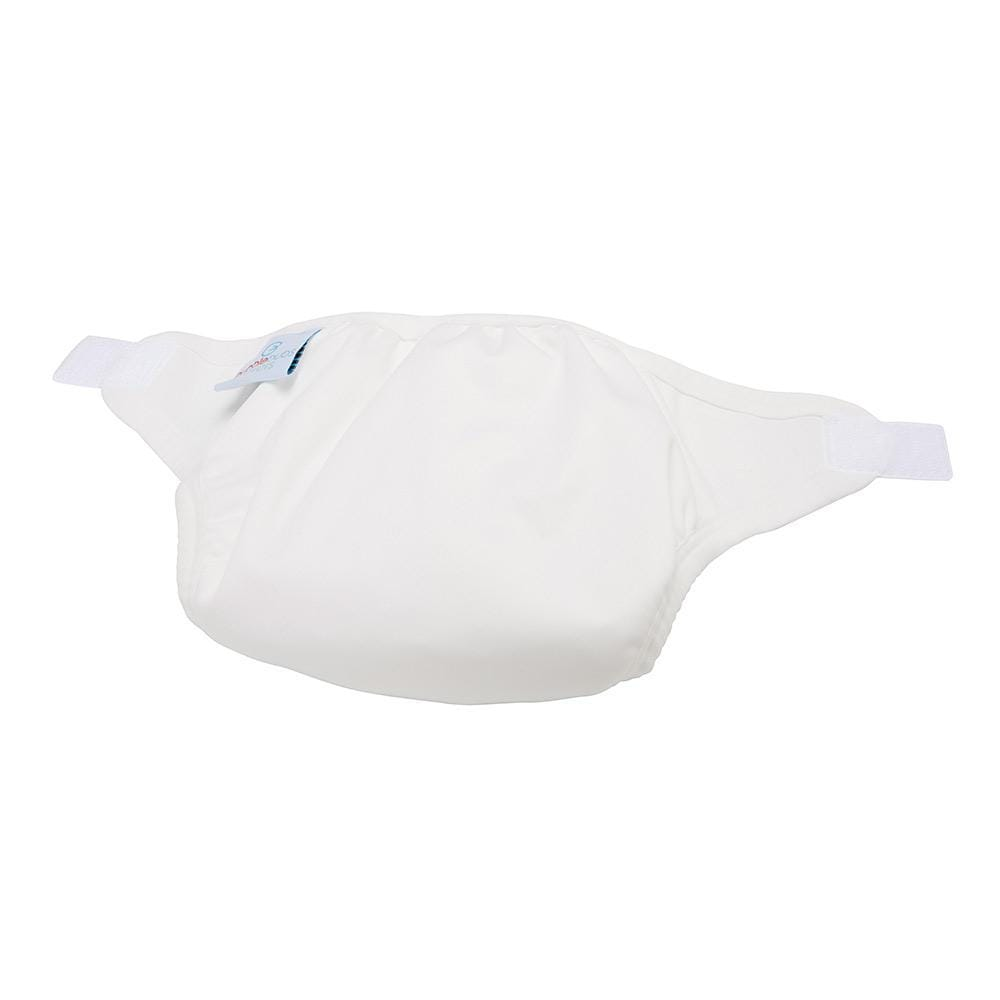 Bubblebubs PUL Gusseted Cover - White