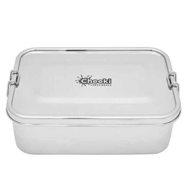 Cheeki Stainless Steel Lunch Box, Hungry Max 1.6L