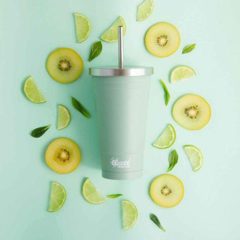 Cheeki Stainless Steel Insulated Tumbler, 500ml Pistachio