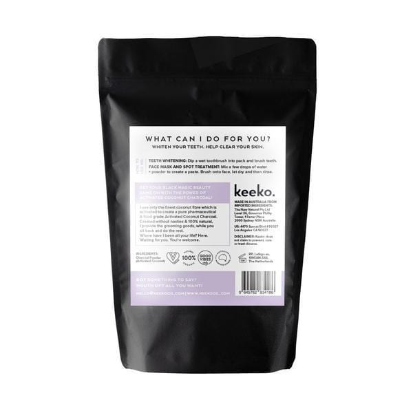 Keeko Activated Coconut Charcoal Powder