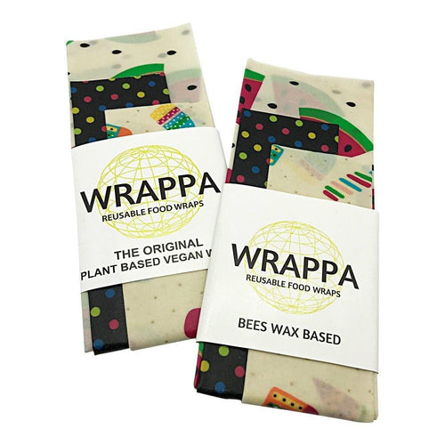 Wrappa Beeswax/Vegan Wraps, Melons - 3 pack
