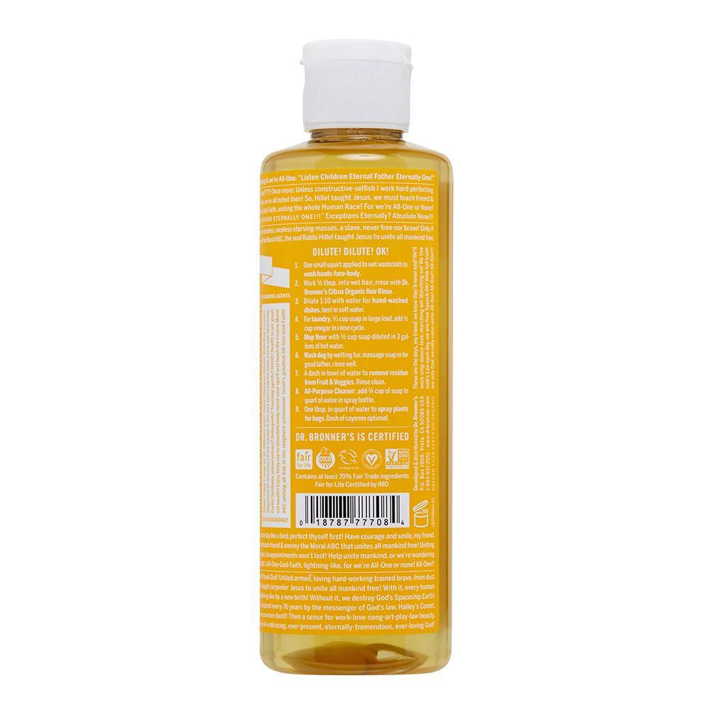 Dr. Bronner's Pure Castile Soap - Citrus Orange