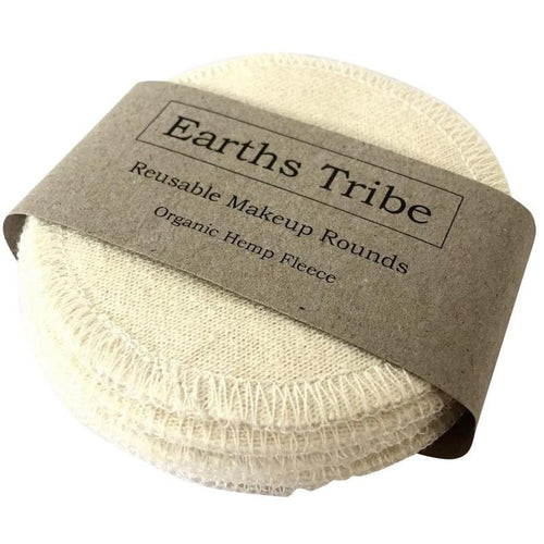 Earth's Tribe Reusable Organic Hemp Makeup Rounds
