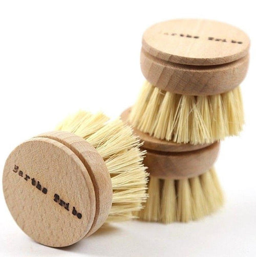 Earth's Tribe Natural Dish Brush, Replacement Head