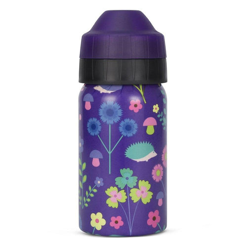 Ecococoon Stainless Steel Water Bottle, Hedgehog - 350ml