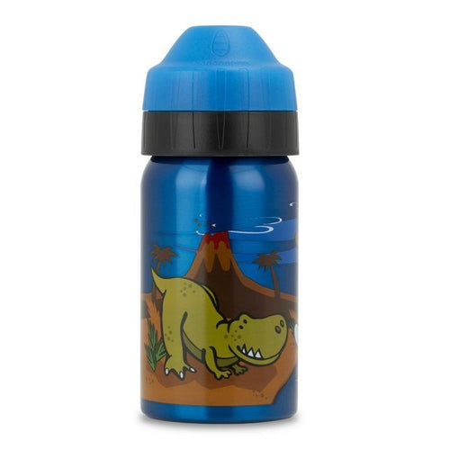 Ecococoon Stainless Steel Water Bottle, Dino Party - 350ml