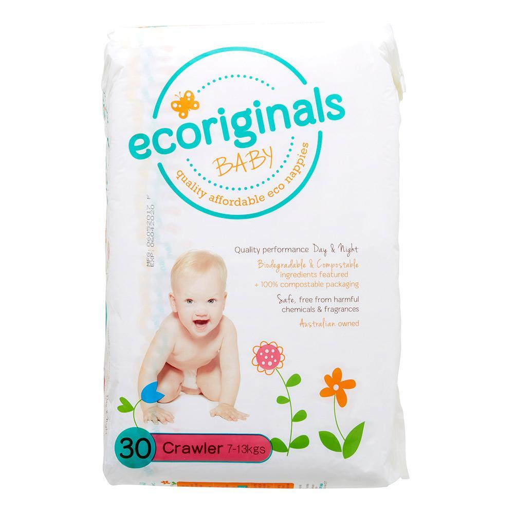 Ecoriginals Crawler Nappies (7-13Kg)